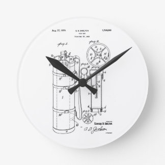 GOLF BAG PATENT 1929 - Round Wall Clock