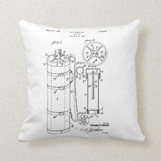 GOLF BAG PATENT 1929 - Throw Pillow Throw Pillow