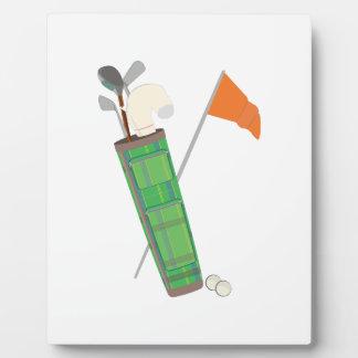 Golf Bag Photo Plaques