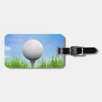 Golf Bag Tag Your Business Card Gift for Dad