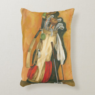 Golf Bag with Glove by Jennifer Goldberger Accent Pillow