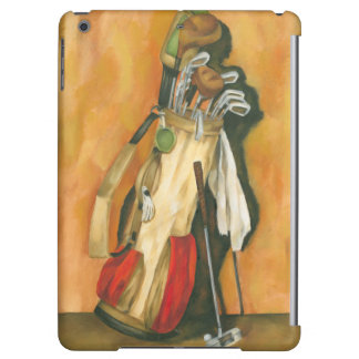 Golf Bag with Glove by Jennifer Goldberger iPad Air Cases