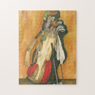 Golf Bag with Glove by Jennifer Goldberger Puzzle