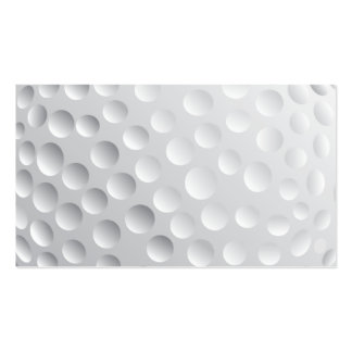 golf_Ball2 WHITE GOLF BALL SPORTS GRAPHICS VECTOR Double-Sided Standard Business Cards (Pack Of 100)