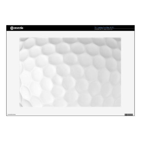 "Golf Ball 15"" Laptop Skin (Mac & PC)"