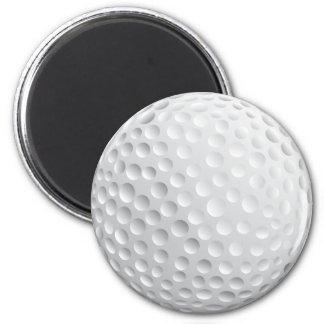 Golf Ball 2 Inch Round Magnet