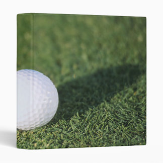 Golf Ball 3 Ring Binder