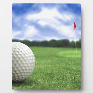 Golf Ball 4 Plaques