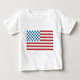 Golf Ball American Flag Baby T-Shirt