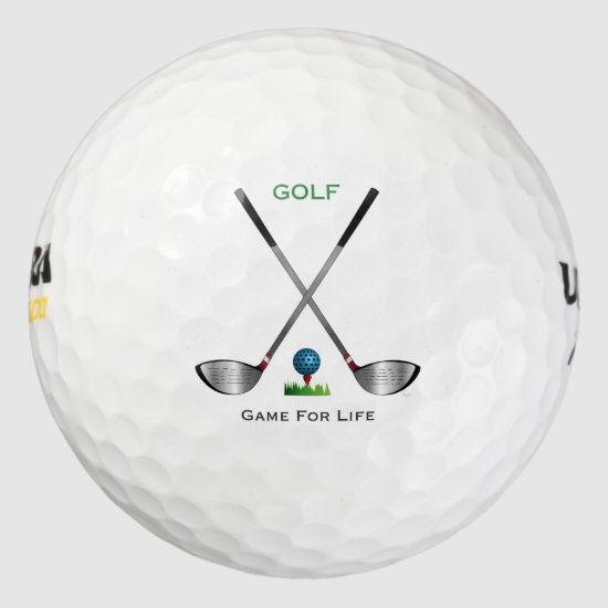 Golf Ball and Club - Game for Life