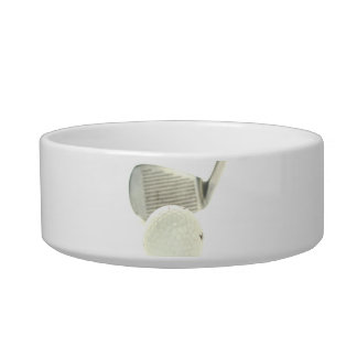 Golf Ball and Club Pet Bowl
