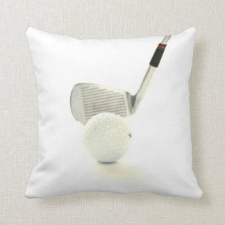 Golf Ball and Club Pillow