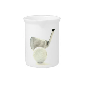 Golf Ball and Club Pitcher