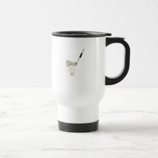 Golf Ball and Club Plastic Travel Mug