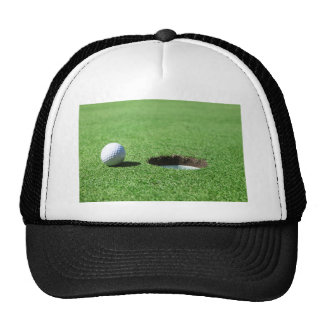 Golf Ball and Hole Trucker Hat