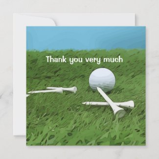 Golf ball and tee on blue for golfer on blue sky