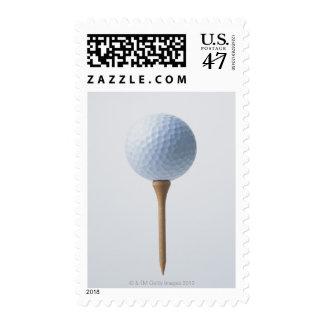 Golf Ball and Tee Postage