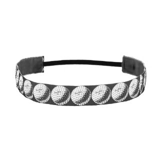 Golf Ball Athletic Headband
