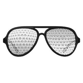 Golf Ball Aviator Sunglasses