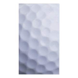 Golf Ball Background Customized Template Business Card Template