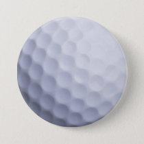 Golf Ball Background Customized Template Button