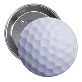 Golf Ball Background Customized Template 3 Inch Round Button