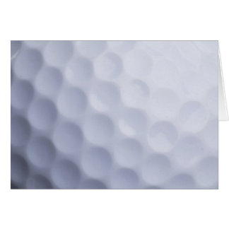 Golf Ball Background Customized Template Greeting Cards