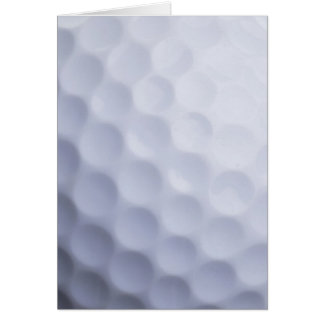 Golf Ball Background Customized Template Card