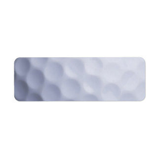 Golf Ball Background Customized Template Labels