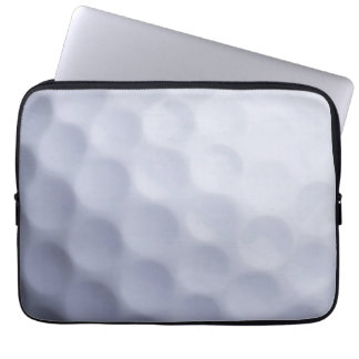Golf Ball Background Customized Template Laptop Sleeves