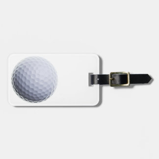 Golf Ball Background Customized Template Tag For Luggage