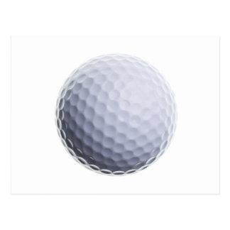 Golf Ball Background Customized Template Postcard