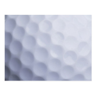 Golf Ball Background Customized Template Postcards