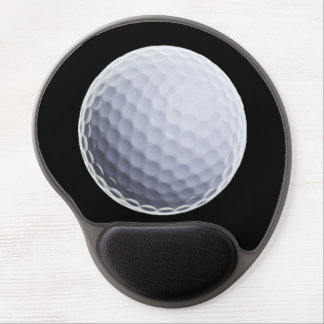 Golf Ball Background - Golfing Sports Template Gel Mouse Pad