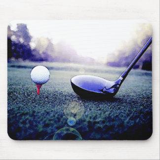 Golf Ball & Bat Mousepad