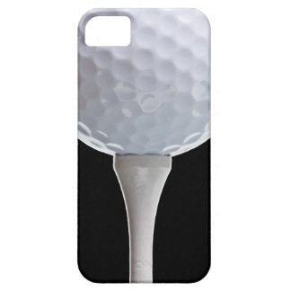 Golf Ball Black Background Golfing Sports Template iPhone SE/5/5s Case