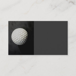 Sports photography business cards zazzle golf ball business card template original photogra reheart Gallery