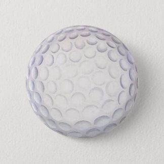 Golf Ball Button/Badge Pinback Button