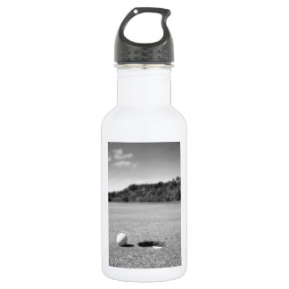 Golf Ball By Hole Water Bottle