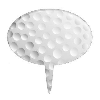Golf Ball Cake Topper