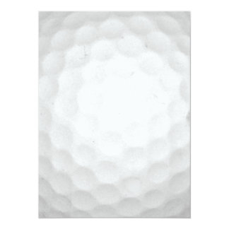 Golf Ball Card