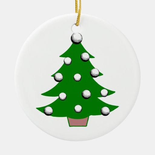 Christmas Tree Ball Placement : Golf ball christmas tree ornament zazzle