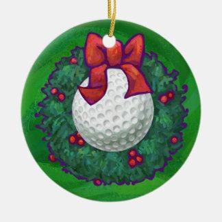 Golf Ball Christmas Wreath Christmas Tree Ornaments