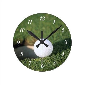 Golf Ball Wallclock