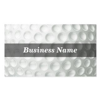 Golf Ball (Closeup) Business Card Template
