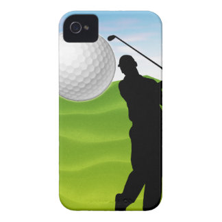 Golf Ball Coming at You Blackberry Bold Cover