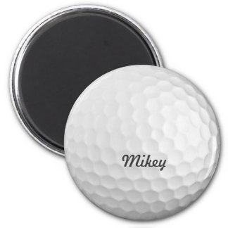 Golf Ball Customizable 2 Inch Round Magnet