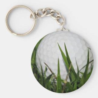 Golf Ball Design Keychain