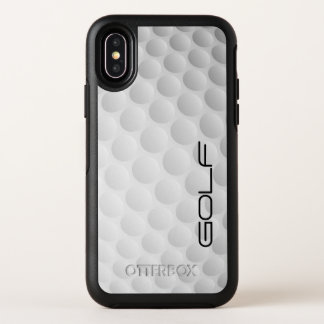 Golf Ball Design OtterBox Symmetry iPhone X Case
