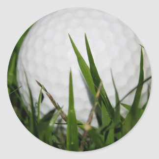 Golf Ball Design Sticker